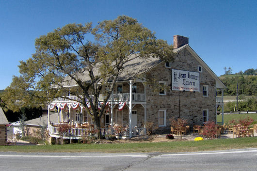 Historic Jean Bonnet Tavern, Beford PA circa 2006