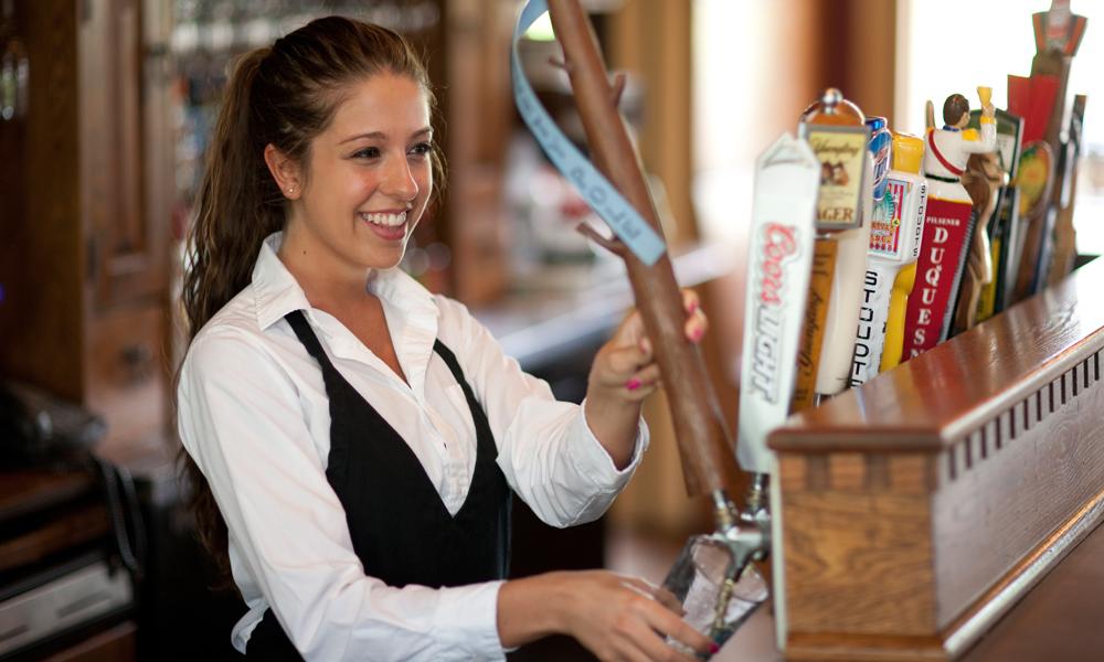 Bar Maid at Jean Bonnet Tavern, Bedford, PA