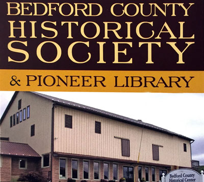 Bedford County Historical Society and Pioneer Library