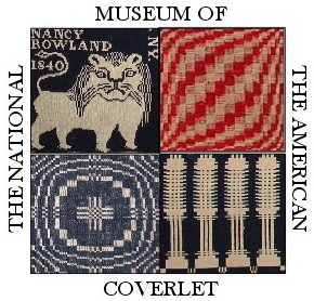 National Museum of the American Coverlet logo