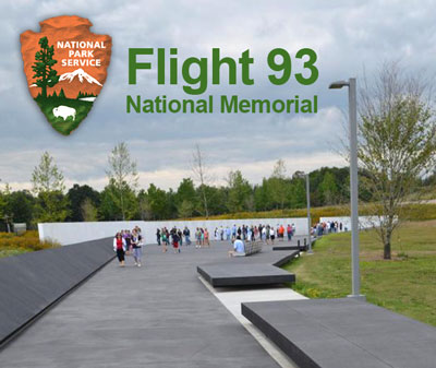 Flight 93 National Memorial, Shanksville, PA operated by the National Park Service