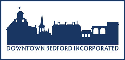 Historic Downtown Bedford organization logo