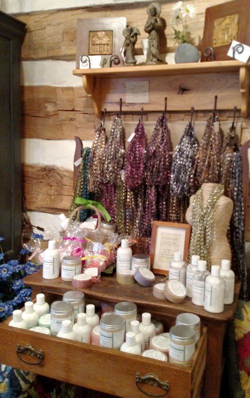 Scarves, Soaps, Lotions