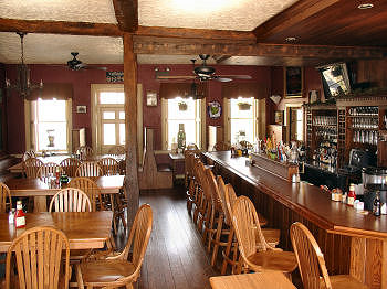 Tavern at Jean Bonnet Looking past Bar to Front Doorway