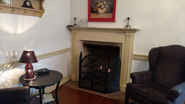 Sitting Area Room 2 at Jean Bonnet Tavern, Bedford PA
